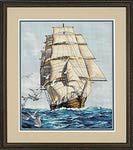 Превью Clipper Ship Voyage (256x288, 15Kb)