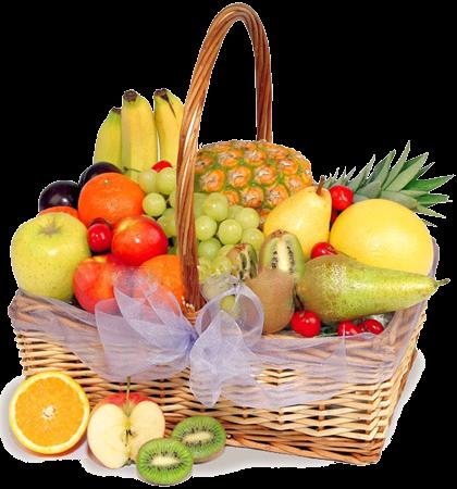 Лечебные стихи, фрукты в корзине