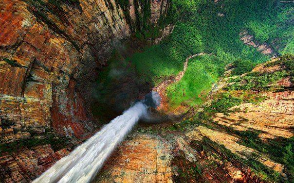Водопад Дракон, Венесуэла (604x377, 84Kb)