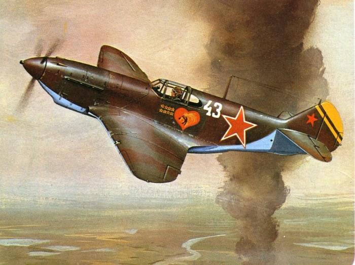 07 ЛаГГ-3 Щипова в полете (700x523, 114Kb)