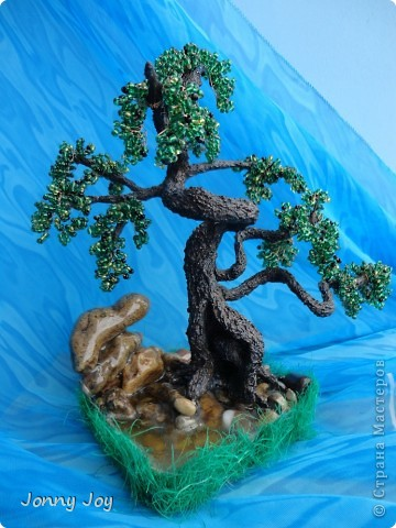 Бонсай Из Бисера - Мастер-Класс от Jonny Joy откроет все секреты по созданию этого интресного дерева.