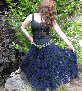 Модная вязаная юбка красиво,кружево,крючок,одежда,пряжа,юбка.