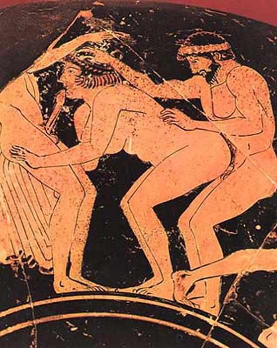 В древней Греции относились к сексу с особым внимаем.