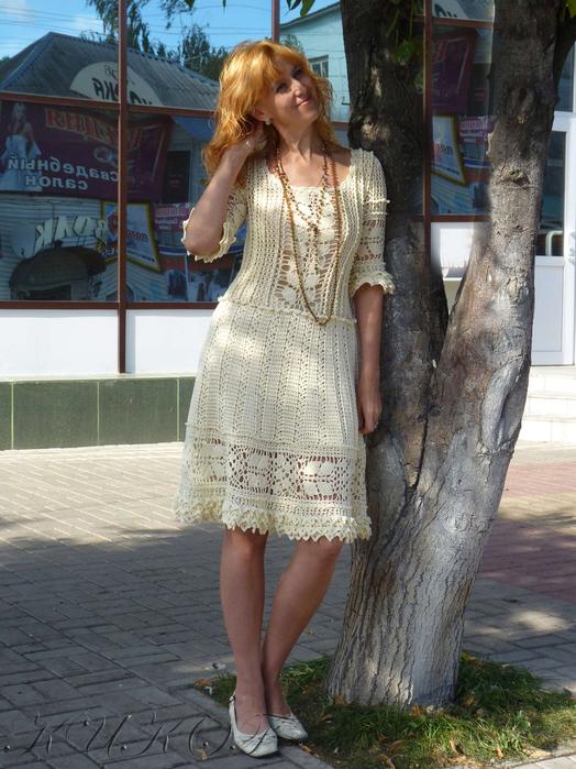 Платье из онлайн-темы клуба На