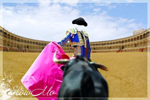 SlowMo, Photoshop, Templates, Costumes, PSD, Исходники, Шаблоны, Костюмы, Наряды, Фотомонтаж, Фотошаблоны, Тореадор, Бык, Красная тряпка, Коррида, Toreador, Torero, bullfighter, corrida, Bull, red rag, Ronda, Бой с быком/1337011198_PSDCostume_Torreodor (500x333, 65Kb)