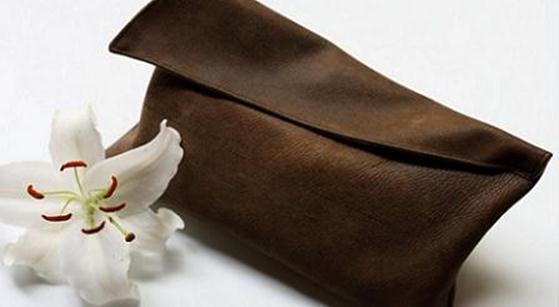 Клатч своими руками кожаный