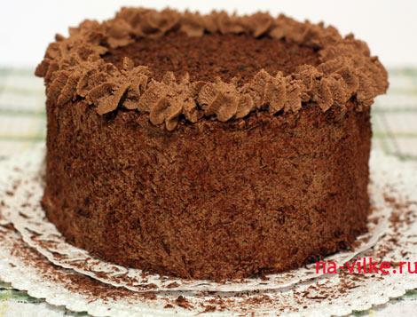 торт бисквитно-песочный фото
