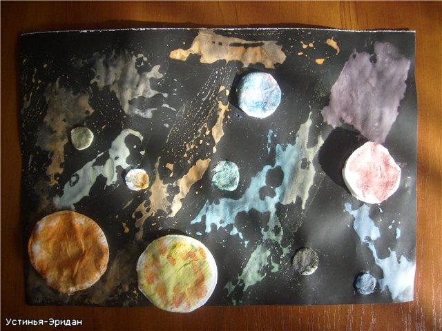 Поделки на тему космоса своими руками фото - Поделки