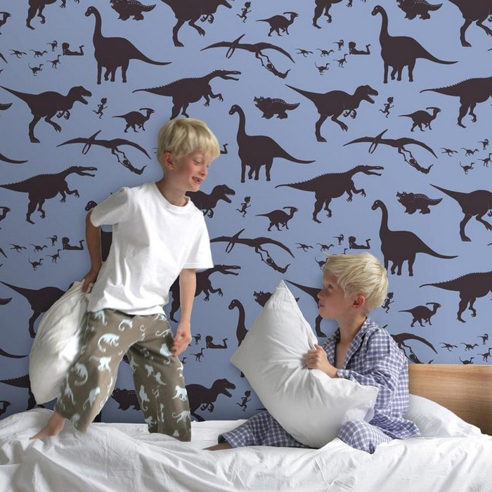 Виды обоев для комнаты мальчика 17 (700x700, 123Kb)