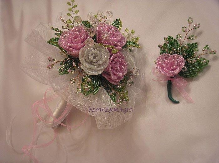 Фото: Цветы из бисера на заказ.  Ручные изделия, товары для творчества, Днепропетровск, Ленинский, цена.