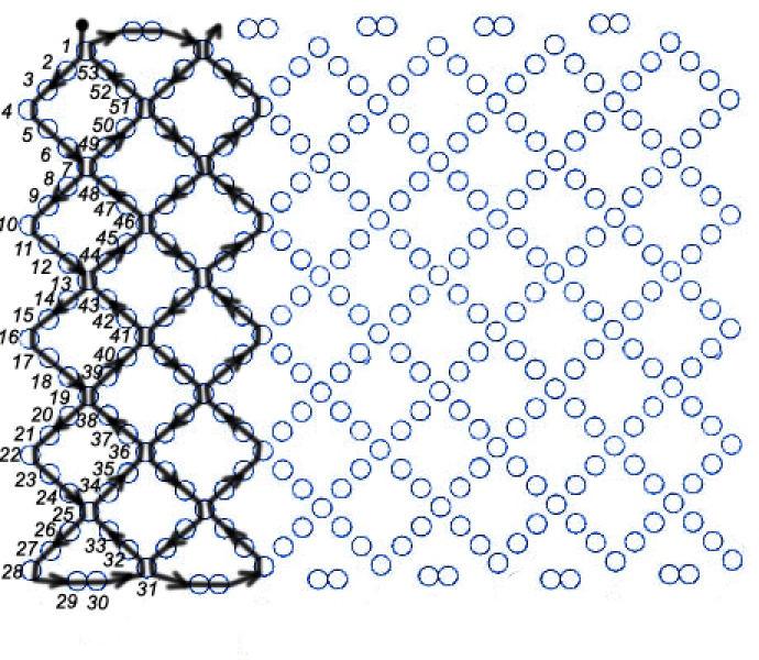 Французское плетение бисером как плести округлые листья и лепесточки. .  Плетение из газет для начинающих шкатулка...