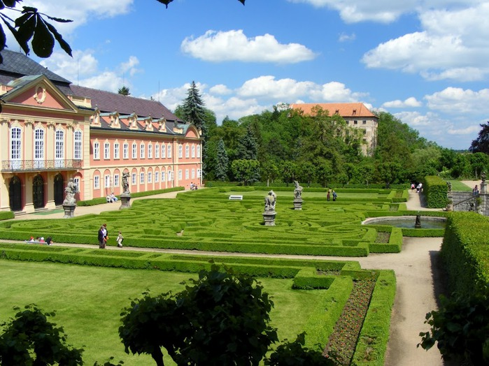 Замок Добриш - королевское имение 84017