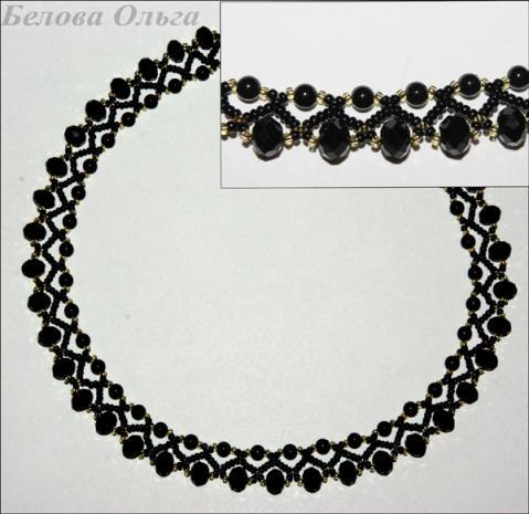 """Эффектное ожерелье """"Южная"""