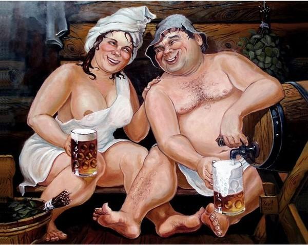 картинки для выжигания мужики в бане только для взрослых