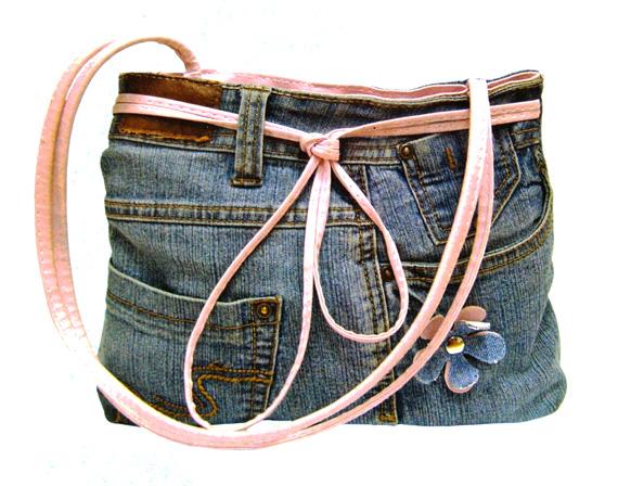 Джинсовые сумки своими руками - Все о.