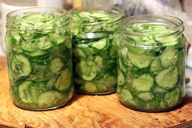 Как из огурцов сделать салат на зиму из огурцов