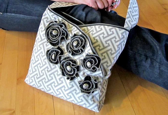 Мастер класс сумочка из ткани