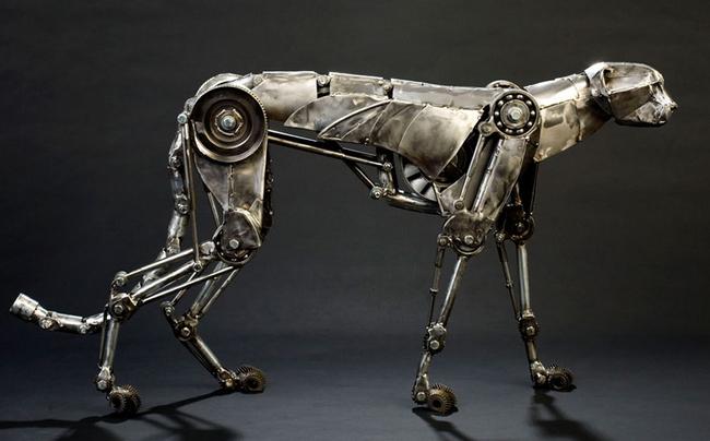 скульптуры в стиле стимпанк 7 (650x404, 198Kb)