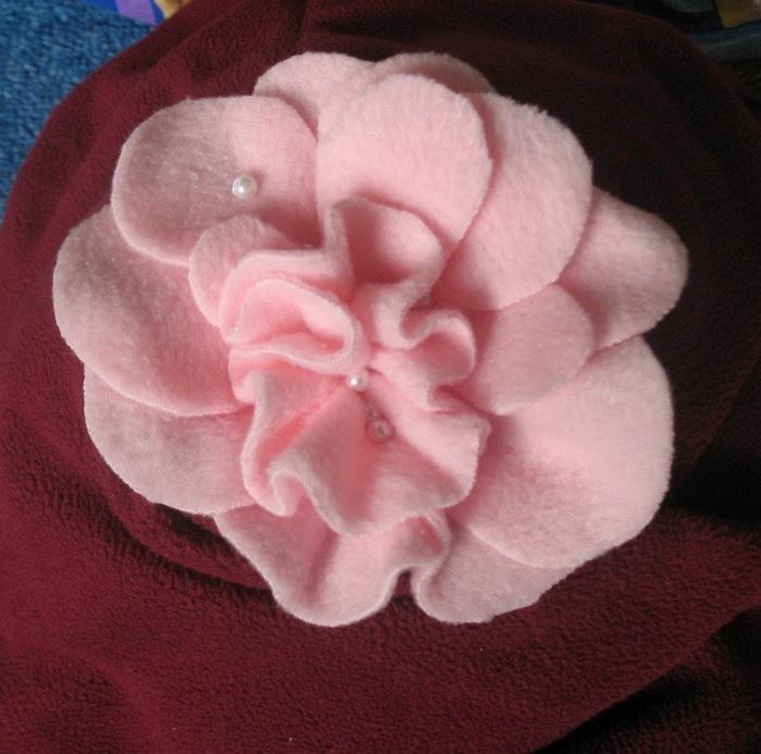 Цветки для шапочек своими руками 637
