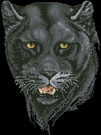 Тигры. Вышивка крестом, схемы