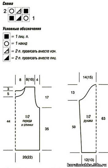 схема и выкройка (352x548, 18Kb)