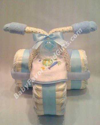 Подарок из памперсов на рождение мальчика своими руками 83