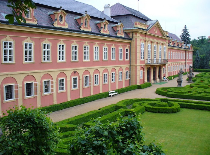 Замок Добриш - королевское имение 95201