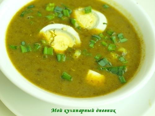 щавелевый суп - Самое интересное в блогах