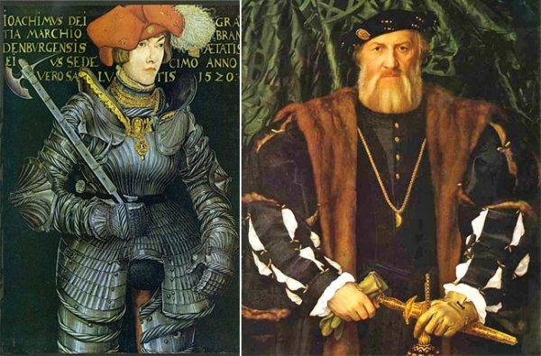 В Средние века перчатки стали