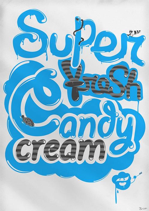 Красивая дизайнерская типографика 2 (497x700, 382Kb)