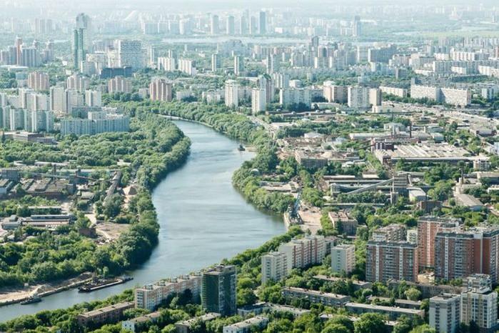 Лучший подарок - достопримечательности Москвы с высоты птичьего полета 12 (700x466, 134Kb)