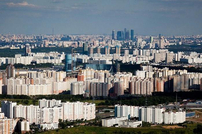 Лучший подарок - достопримечательности Москвы с высоты птичьего полета 13 (700x466, 132Kb)