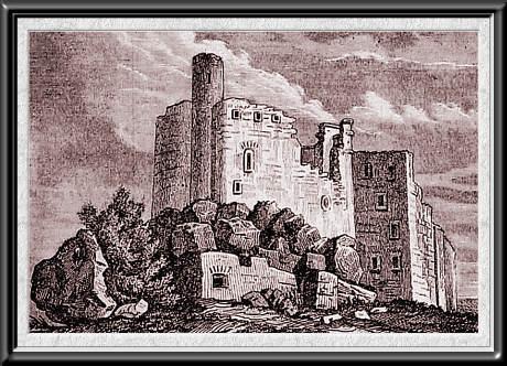 mirowRuiny zamku XIX w. Cynkotyp J. Lewickiego  (460x332, 50Kb)