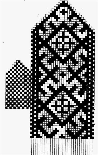 Варежки схемы 25 (407x640, 67Kb)