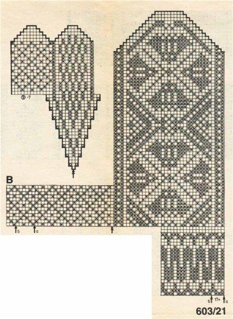 Варежки схемы 26 (468x640, 86Kb)
