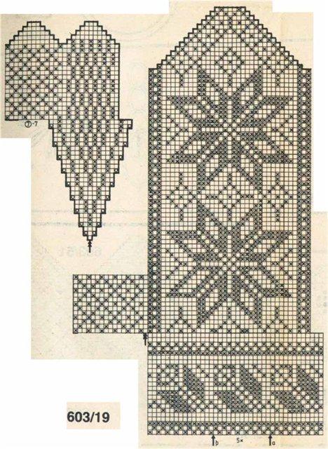 Варежки схемы 28 (468x640, 95Kb)