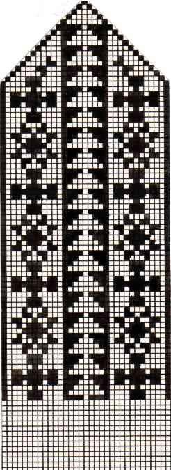 Варежки схемы 34 (246x675, 49Kb)