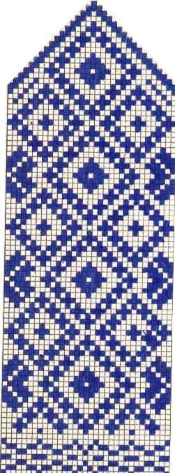 Варежки схемы 38 (251x678, 48Kb)