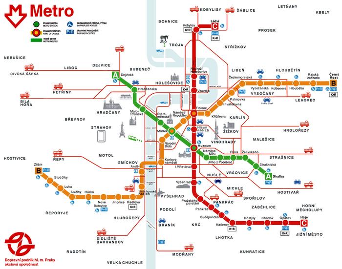 Схема метро Торонто