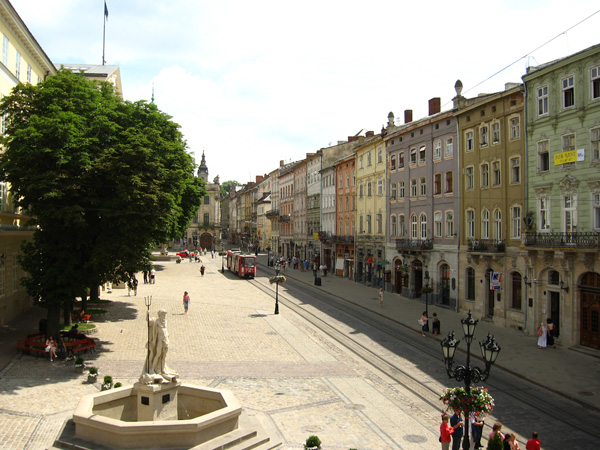 Львов – город с многовековой историей и вкусным пивом.