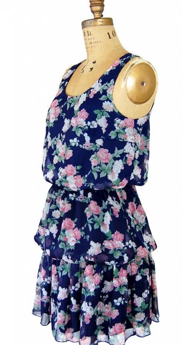 Как сшить летнее платье из шелка своими руками