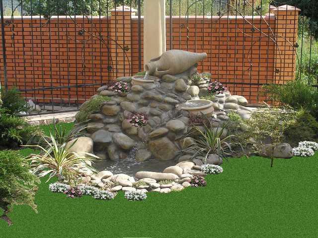 Дизайн оформление сад
