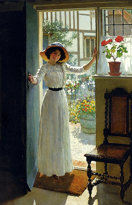 Margetson_William_Henry_At_The_Cottage_Door (452x700, 306Kb)