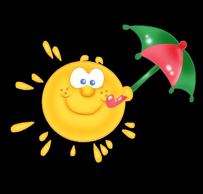 Картинки солнце улыбающееся