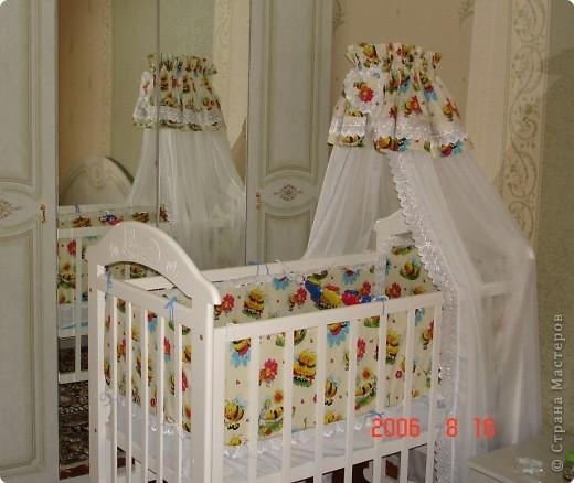 Балдахины на детскую кроватку своими руками фото