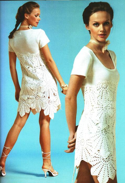 Белое платье онлайн