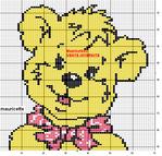 Превью ours jaune (553x529, 10Kb)
