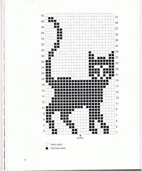 вышивка кот (478x576, 53Kb)
