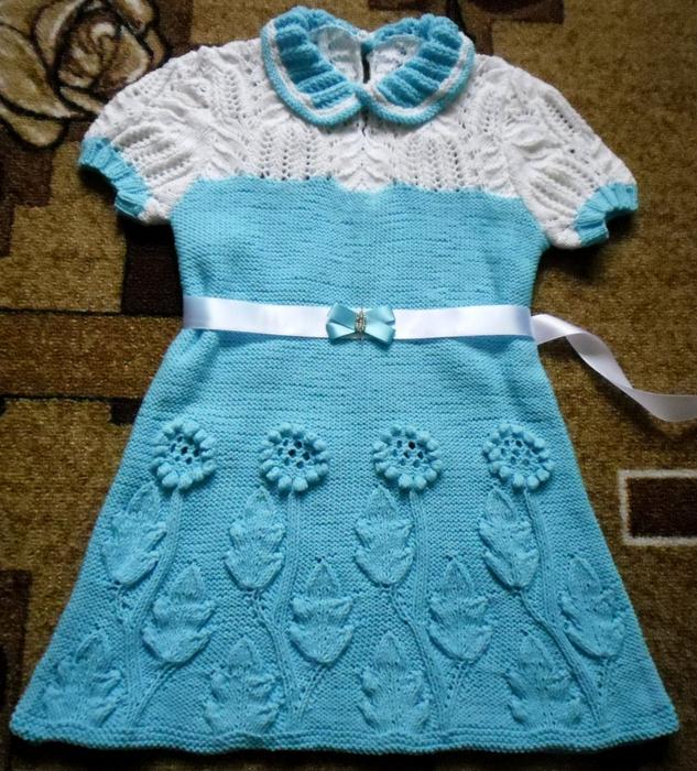 платье девочке (633x700, 399Kb)