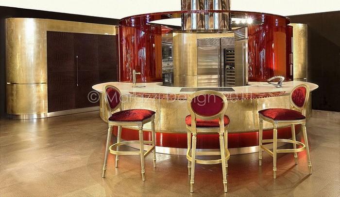 Самая дорогая кухня в мире - Colosseo Oro от студии Marazzi Design 7 (700x407, 97Kb)